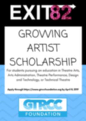 Theatre Arts Scholarship
