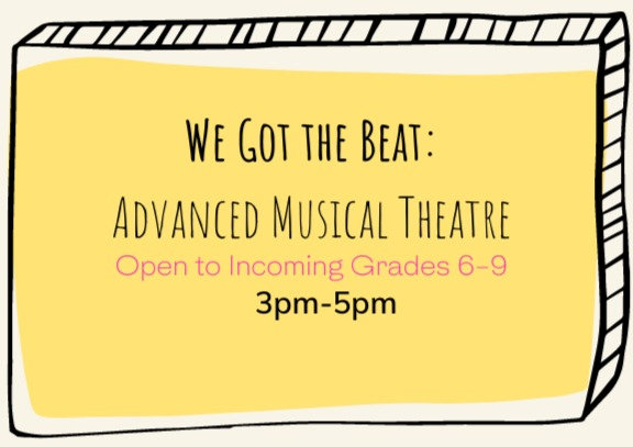 August Session: Advanced Musical Theatre