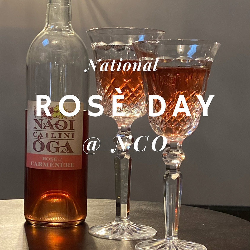 National Rosè Day at NCO
