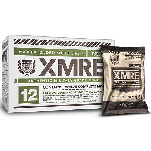 XMRE- 1300XT Meal Kit - 12 Meals