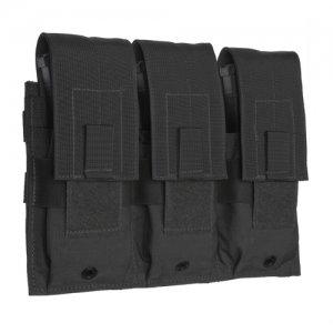 Triple Universal Rifle Magazine Pouch-Black