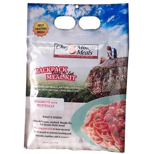 Chef 5 Minute Meals- Spaghetti & Meatballs