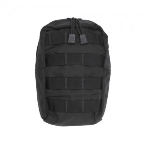 Vertical Utility Pouch-Black/Coyote