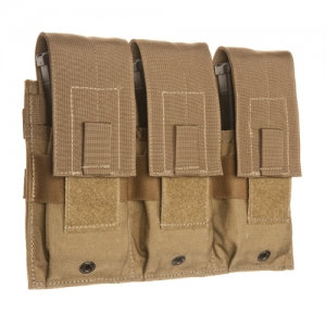Triple Universal Rifle Magazine Pouch-Coyote