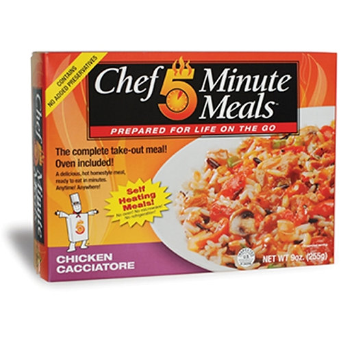 Chef 5 Minute Meals- Chicken Cacciatore