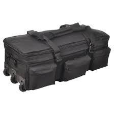 S.O.C.-Rolling Load-Out Bag-Black