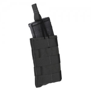Single Speed Load Rifle Pouch-Black
