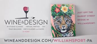 Billboard for Williamsport Wine & Design