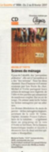 disque Michel et Yvette gazette de Montpellier chanson française