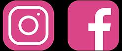 Instagram and Facebook