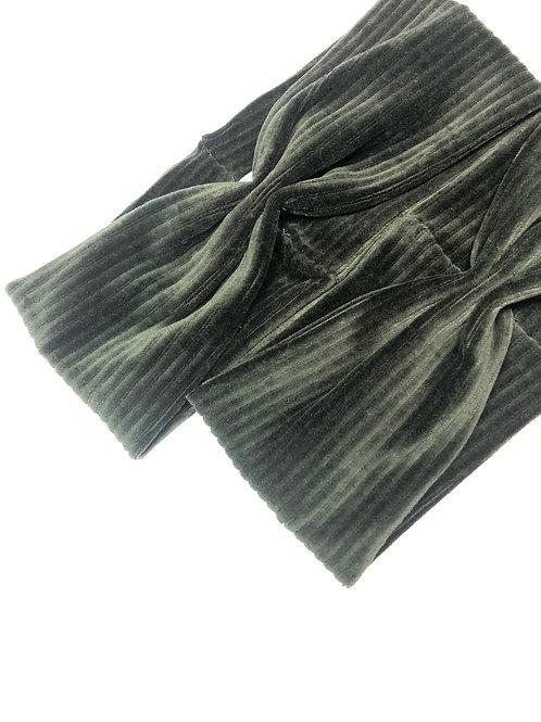 Haarband Oliv