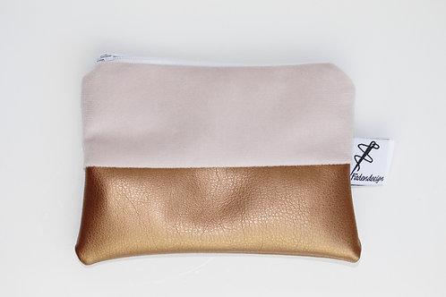 Minitasche Rosa Kupfer
