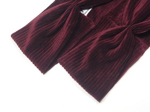 Haarband Dark Berry Stripes