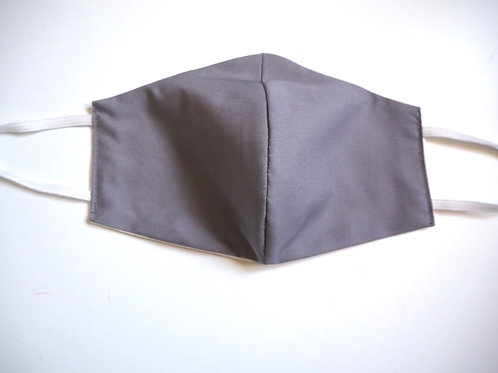 Behelfsmaske grau men  Lux