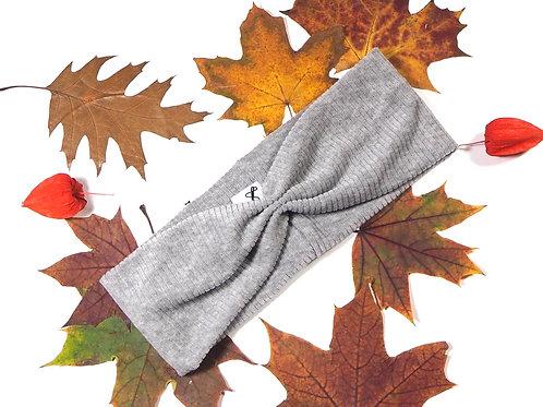 Haarband Organic light grey