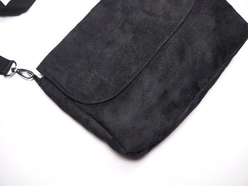 Handtasche Midi Schwarz