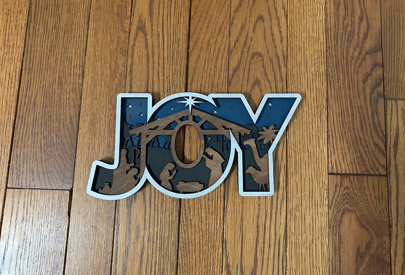 Joy 3D Nativity
