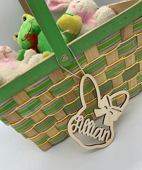 Bunny Basket Tags