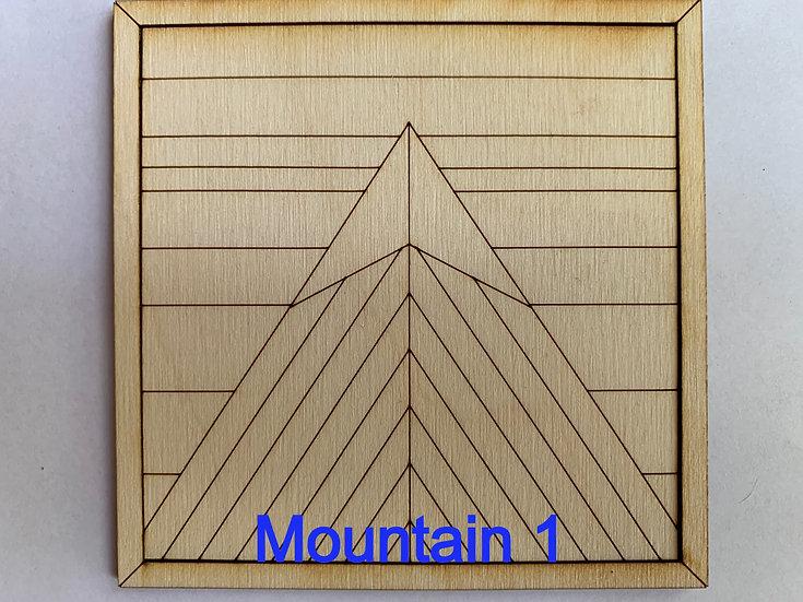 Set of Mountains DIY Kit