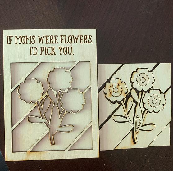 If Moms Were Flowers DIY