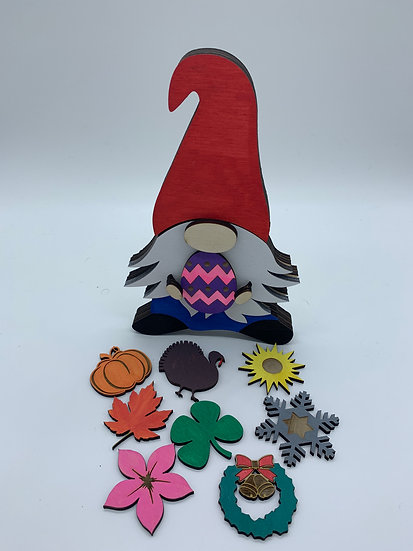 Standing Holiday Gnome
