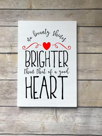 No Beauty Shines Brighter School