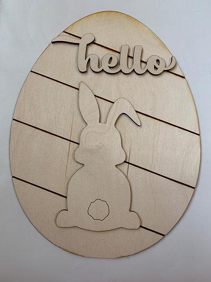Easter Sign DIY