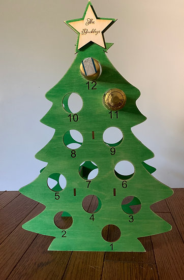 Mini Wine Bottle Advent Calendar