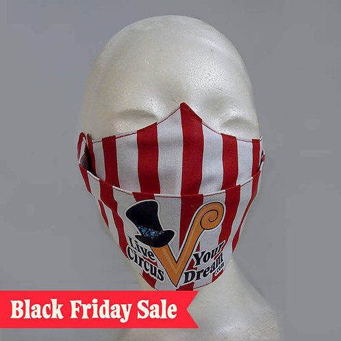 Venardos Circus Circus Tent Face Mask