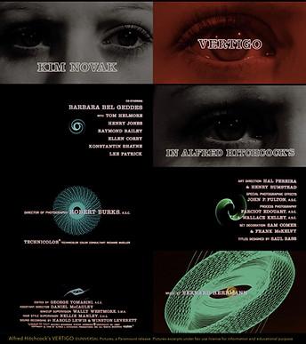 VERTIGO's screen titles by Saul Bass