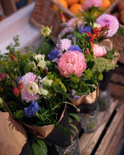 Larkspur & Lavender flowers