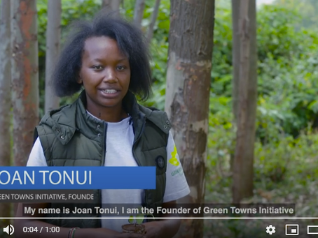 How Miss Environment started re greening her town