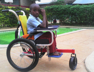 Miss 1 Birthday in your life time to help 1 disabled child in Africa