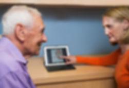 adult speech pathology patient
