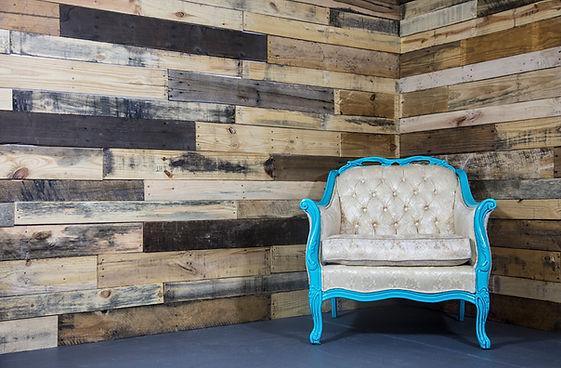 reclaimed wood backdrop