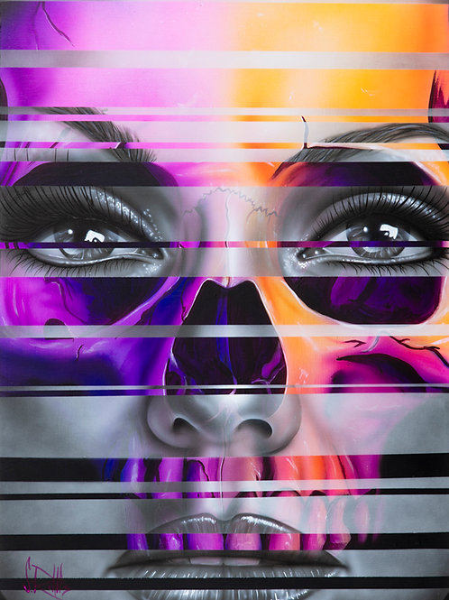 Head In The Girl - Print