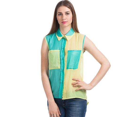 Yeşil Sarı Gömlek
