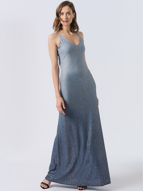 Mavi Degrade Elbise