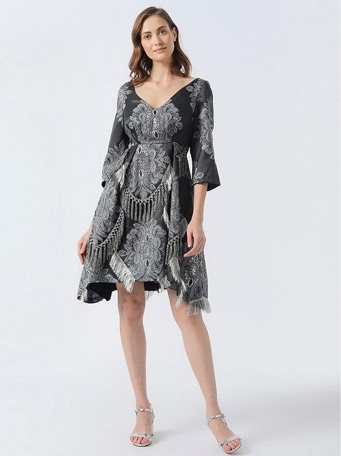 Füme Barok Elbise