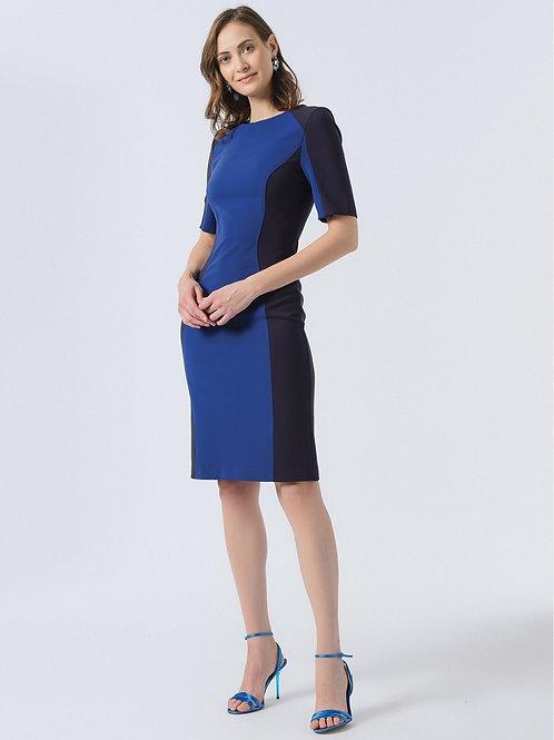 Lacivert Mavi Elbise