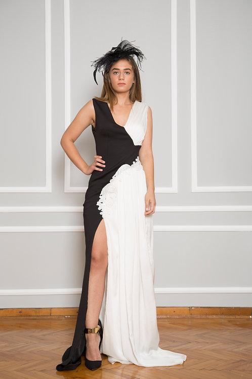 Black White Elbise.