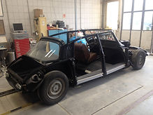 Citroën DS restauration carrosseri