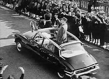Citroën ds19 de Gaulle