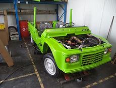 Citroën Méhari restauration mécanique Citrostory