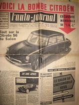 Citroën DS 1955 l'auto-journal