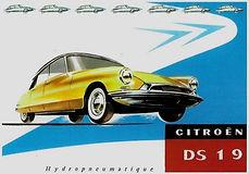 Citroen DS 19 catalogue