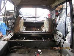 Citroën DS restauration châssis