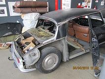 Citroën DS restauration carrosserie