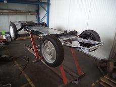 Citroën 2 CV restauration châssis