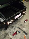 Citroën DS restauration arrière